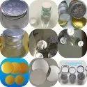 Foil seals for bottles andd jars