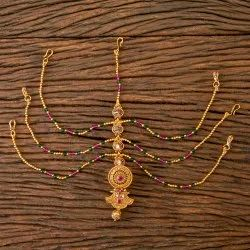 Antique Gold Plated Bore Damini 203321