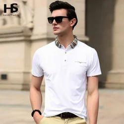Men's Cotton Peter Pan Collar T-Shirt