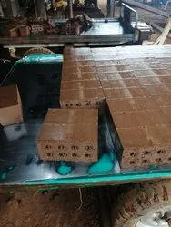 Clay Red 8 Hole Perforated Bricks, Size: 9*4*4, for Building