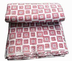 Hand Block Cotton Jaipuri Printed Fabric