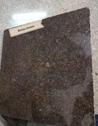 India Polished Brown Granite Slab, Thickness: 15-20 mm