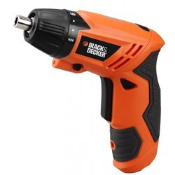 Black & Decker KC4815 Cordless Screwdriver 4.8 V, 200 RPM with 15 Bits