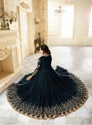 Trendy Georgette Designer Gown, Age Group: Adults