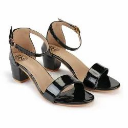Deeanne London Women's Single Strap Block Heels
