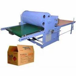 KARUNYA Corrugated Flexo Paper Printing Machine