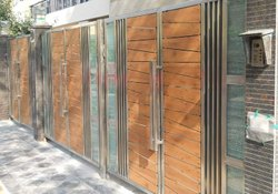 Thunder X paper Based Entrance HPL Gate Sheet, For Exterior, Thickness: 6 MM
