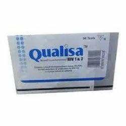 Qualpro Qualisa Hiv 4.0 (Hiv 1 & 2 Elisa Test Kit) for Hospital