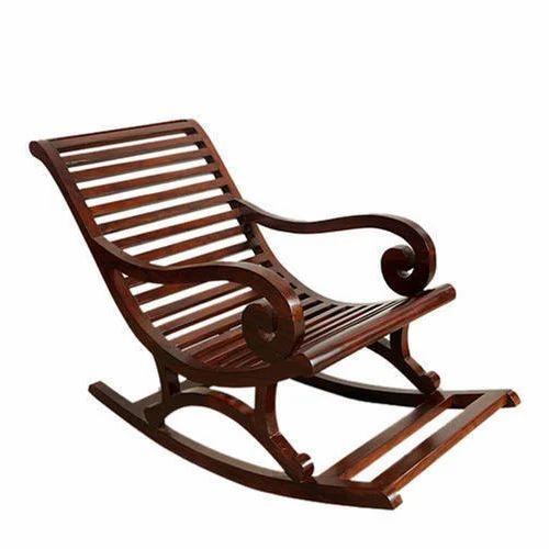 Teak Wood Easy Chairs