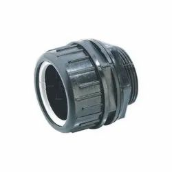 Polished Round Adapter for Flexible Conduit