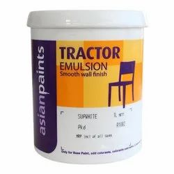 Soft Sheen White Asian Paints Tractor Emulsion Paint, For Interior Walls, Packaging Size: 1 Liter
