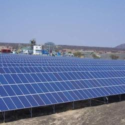 Rooftop Grid Tie Solar Power Plant