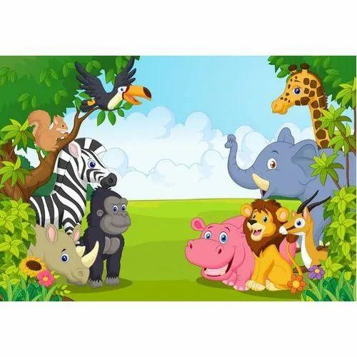 3d cartoon wallpaper