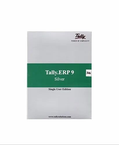 Tally Erp 9 Silver Single User At Rs 17200 Piece Tally Erp 9 Silver Single User Id 20553426312