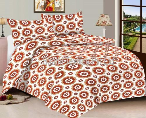 Double Bed Dimensions.Cotton Printed Double Bed Sheet Dimensions 90 X 108 Inch Rs 380