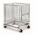 Wire Mesh Steel Cage Bin