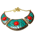 Green Women Necklace