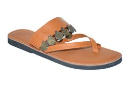 Women Traditional Faux Leather Kolhapuri Chappal