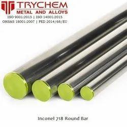 Inconel 718 Round Bar UNS N07718 Round Bar