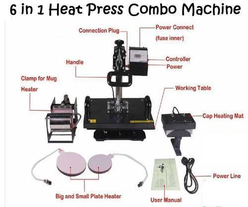 b48f3fb5 Semi-Automatic 6 In 1 Heat Combo Machine, Rs 17499 /piece, Hanuman ...