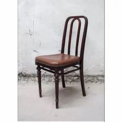 Brown Wooden Dining Room Chair