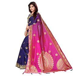 J17 Designer Khadi Silk Saree