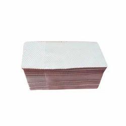 White Plain Paper Napkin, Size: 180 mm X 150 mm