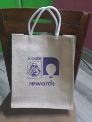 Jute corporate gift bag