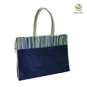 Jute Bag With Webbing Cord Handle