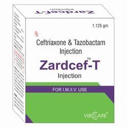 Ceftriaxone 1gm Tazobactum 125mg