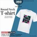 Dry feet round neck t-shirt