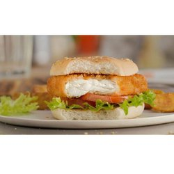 Fish Burger, Packaging Type: Packets