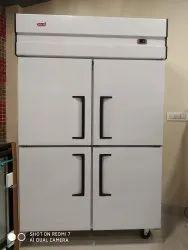 Four Door Vertical Chiller In Stainless Steel Body
