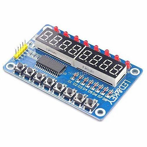 TM1638 LED Display Module Tube Key for Arduino AVR STM32 DC 12V Assembly