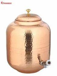 Copper Matka / Water Tank - Leakage Proof (4 Ltr)