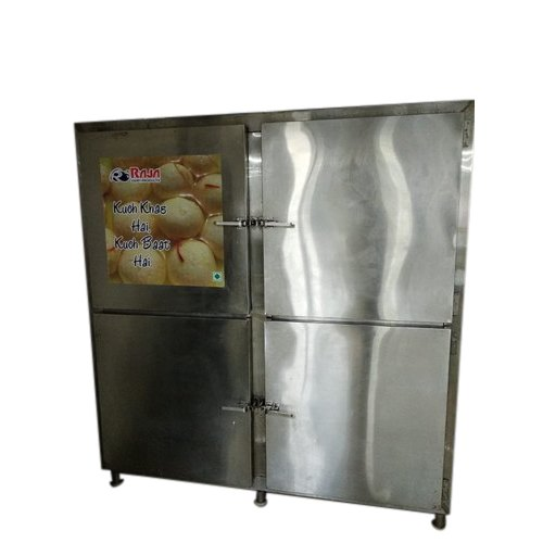 Stainless Steel Pooja Cooling Vertical Refrigerator, 100-600 L, Electric
