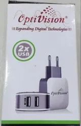 White Electric Optivision Mobile Charger