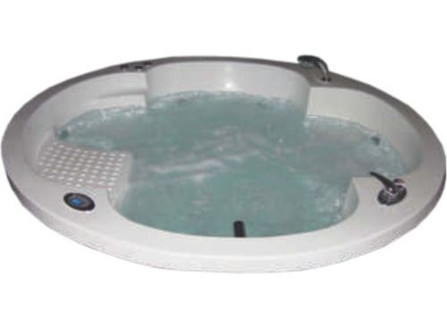 White Or Ivory PEARL Round Acrylic Bath Tubs, 532