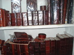 HV Vintage Brown Genuine Leather Diaries