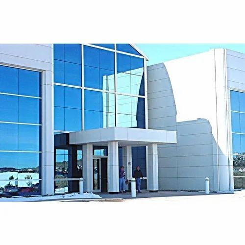Aluminium glazing work