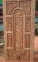 CNC 3D Design Door In Teak Wood