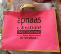 Loop Handle Printed Shopping Bag