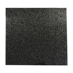 Black Sparkle Lacquered Glass