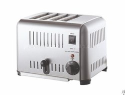 Stainless Steel Andrew James 4 Slice Toaster, Warranty: 1 Year