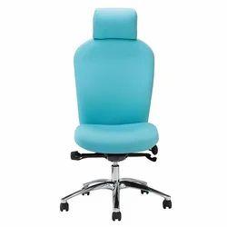 Revolving High Back Armless Office Chair