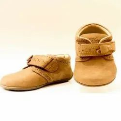 Tan Color Baby Shoes