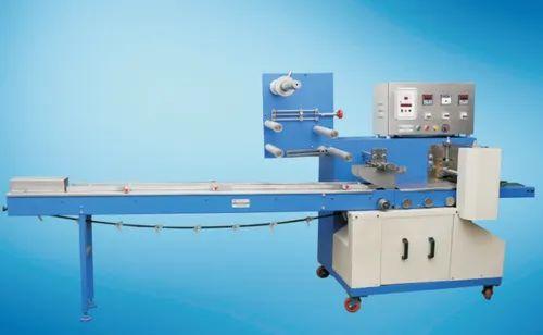 Stainless Steel Horizontal Flow Wrapper Machine