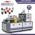 Automatic Paper Glass Machine