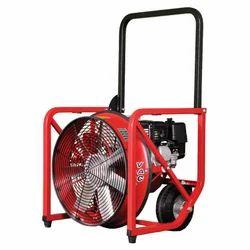 Red, Black Positive Pressure Ventilation Fan