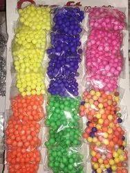 Thermocol Balls Neon